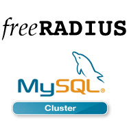 FreeRADIUS And MySQL Cluster