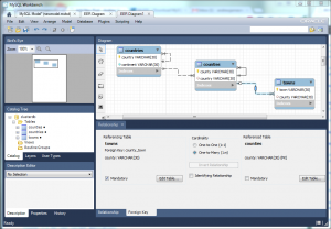 Viewing & updating Foreign Key Constraints in MySQL Workbench