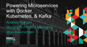 Building Microservices with Docker, Kubernetes, Kafka & MongoDB