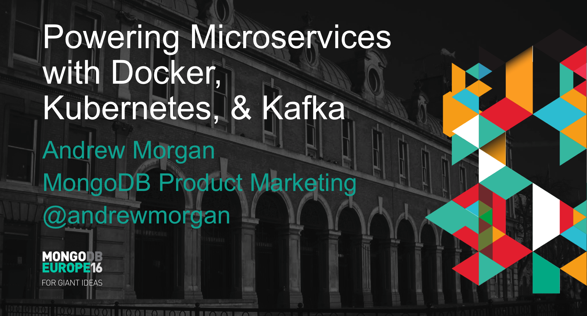 Building Microservices with MongoDB, Docker, Kubernetes